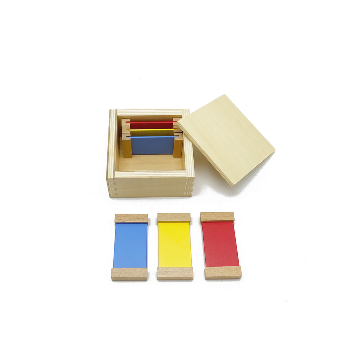 First Box Of Wooden Color Tablets