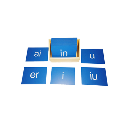 Pinyin Sandpaper Letters Simple or Compound Vowel (of a Chinese syllable)