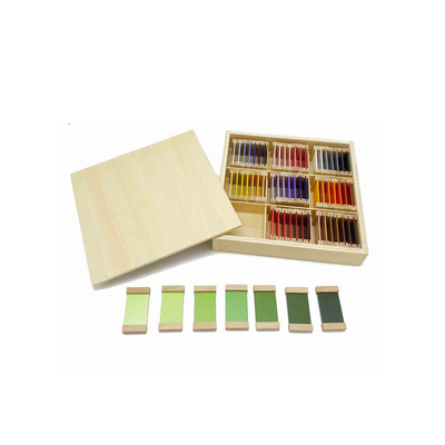 Third Box Of Wooden Color Tablets